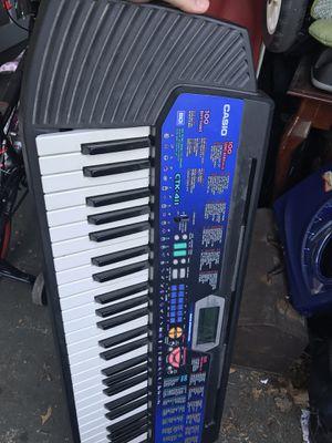 Casio keyboard music for Sale in Riverside, NJ