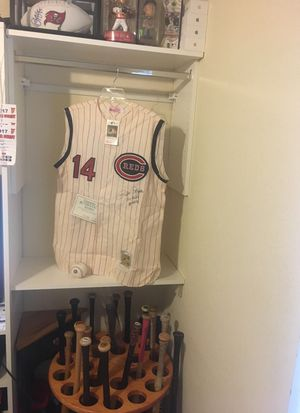 Pete Rose Autographed Jersey for Sale in Tampa, FL