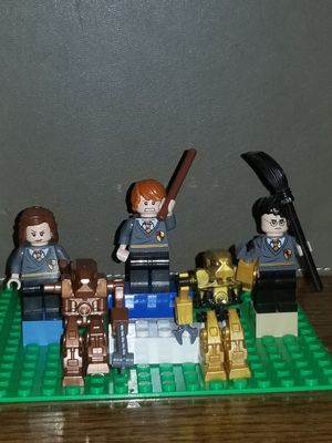 3 Harry Potter Mini Lego Figures + 2 Monsters for Sale in Morgan Hill, CA -  OfferUp