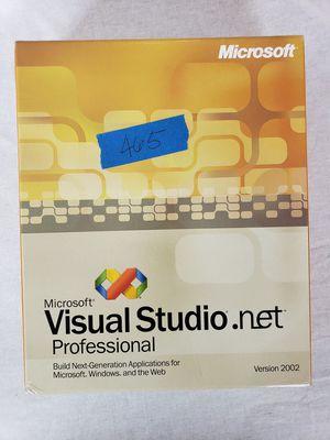 Microsoft Visual Studio Professional 2002 for Sale in North Potomac, MD