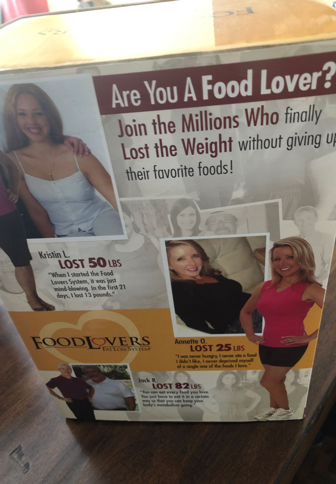 Food lovers weight loss system still in the box mint condition NEVER opened