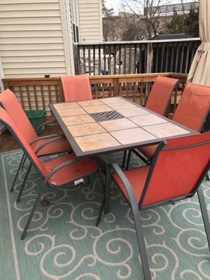 Patio Table with 10 chairs for Sale in NO POTOMAC, MD