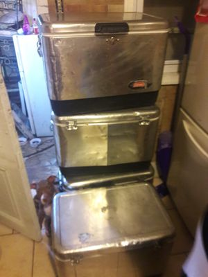 Coleman stainless steel coolers for Sale in Philadelphia, PA