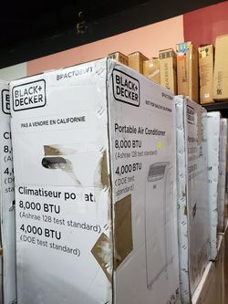 Aires Acondicionado Portatil.....8000 BTU nuevos En Caja Thumbnail