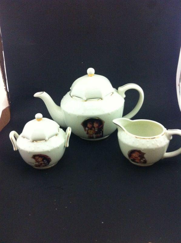 Mj Hummel Porcelain Tea Set Umbrella Girl For Sale In Saint Paul Mn