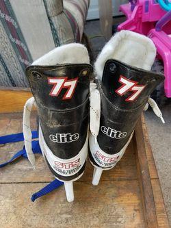 Size 7 mens hockey ice skates Thumbnail