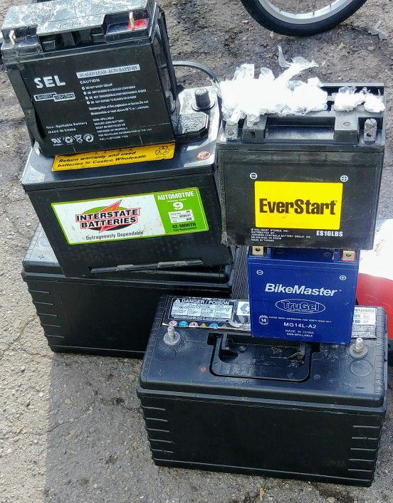 Truck Car And Motorcycle Batteries
