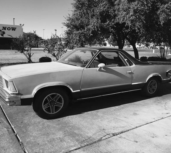 1979 El Camino Shell For Sale In San Antonio, TX