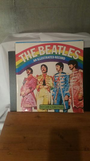 Photo The Beatles and Illustrated record publish 1975