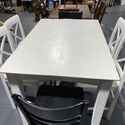 Solid Wood Dining Table With 6 Chairs Thumbnail
