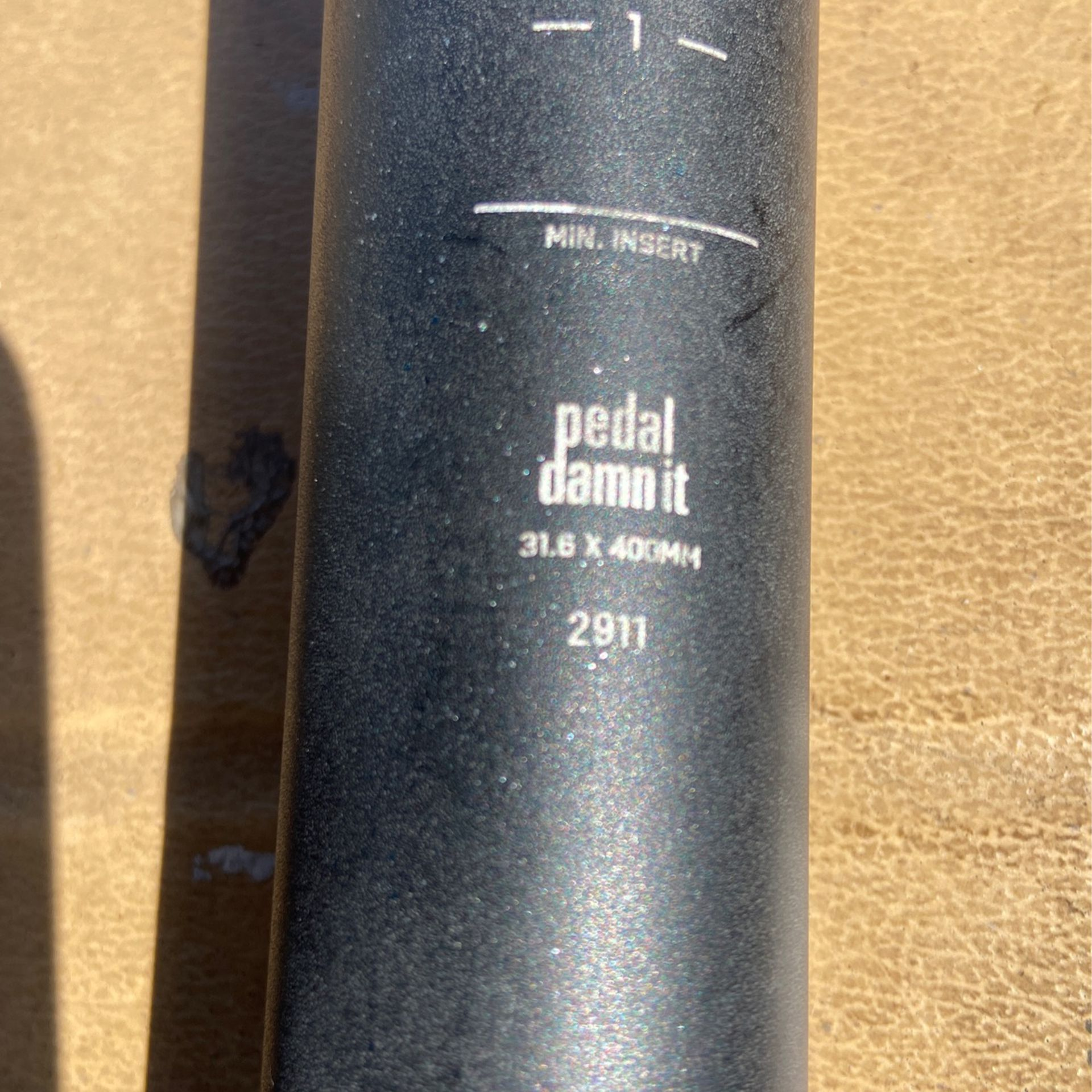 NINER Seat Post  31.6 X 400mm For Mountain Bikes