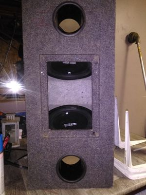 2 10 inch RE AUDIO single voice coil subs for Sale in WA, US
