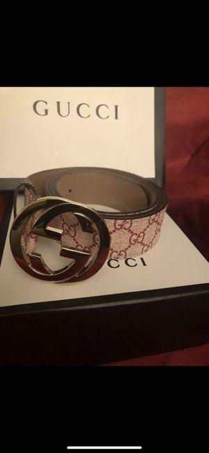 Gucci Belt Interlocking G for Sale in Silver Spring, MD