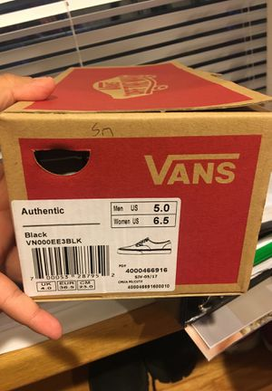 Vans shoes for Sale in Annandale, VA