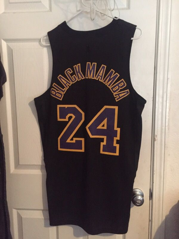 release date c4086 456e8 Kobe Bryant black mamba Lakers jersey for Sale in Tacoma, WA - OfferUp