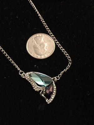 Butter fly necklace. Blue. for Sale in Denver, CO