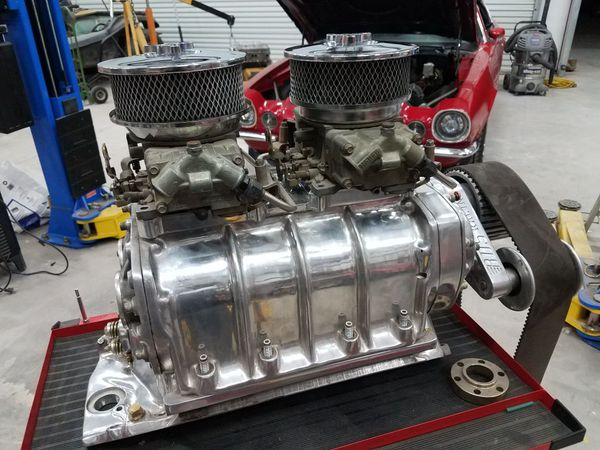 Mooneyham 671 polished BDS supercharger blower BBC Chevy ...