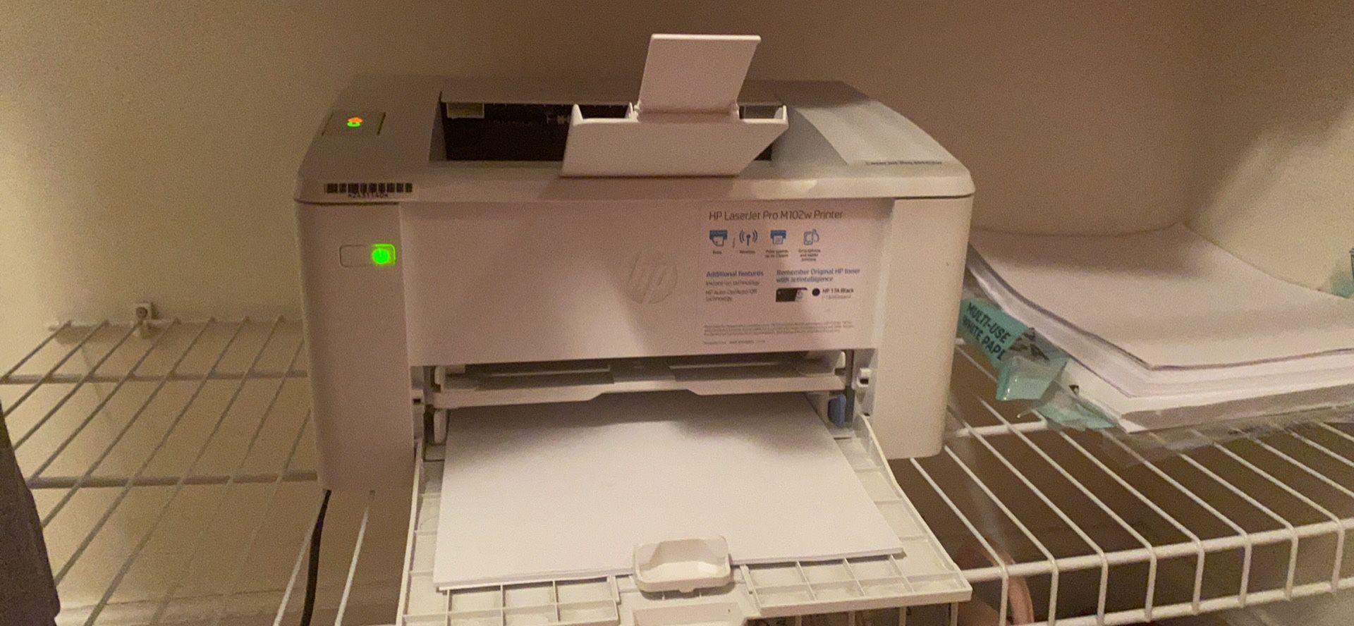 HP LaserJet Laser Pro M15w Wireless Printer