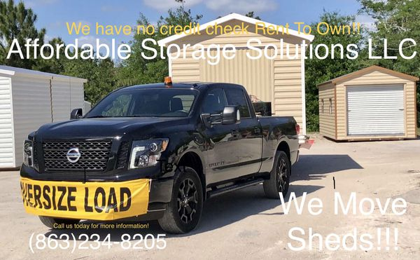 WE MOVE SHEDS for Sale in LaBelle, FL - OfferUp
