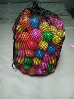 Bag of balls for ball pit for Sale in Farmville, VA