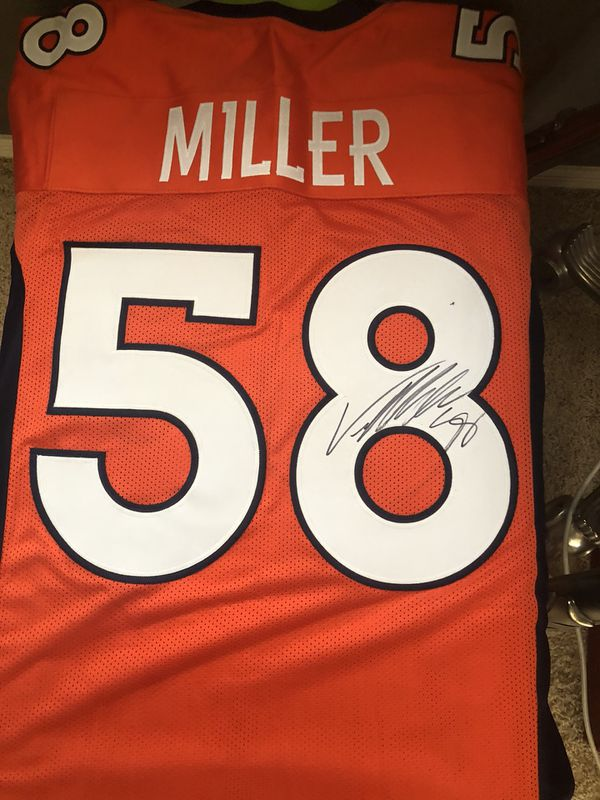 low priced e2348 b5b11 Von Miller Autographed Jersey for Sale in Litchfield Park, AZ - OfferUp