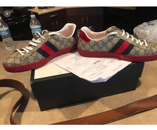 7879ba53438 Authentic Gucci shoes men s size 10 for Sale in College Park