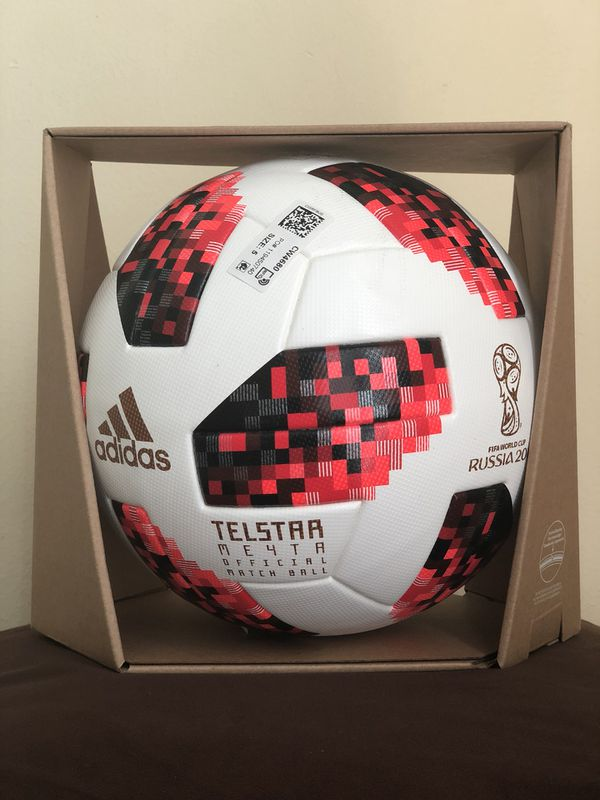Adidas World Cup 2018 Telstar Ko finals Official Match Ball in With NFC  chip in adidas display box for Sale in Los Angeles, CA - OfferUp