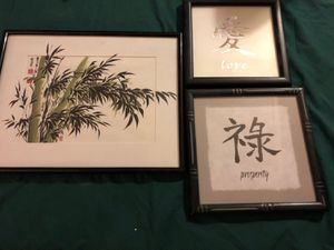 Asian Wall Decor for Sale in Apex, NC