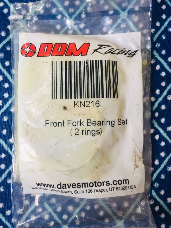 New Goped parts NEW sealed DDM Racing Front Fork Bearings for Sale in San  Leandro, CA - OfferUp