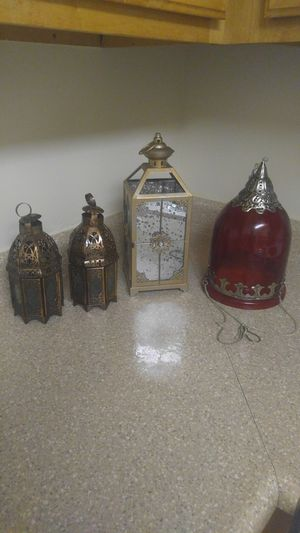 Candle holders or decor $40 all for Sale in Annandale, VA