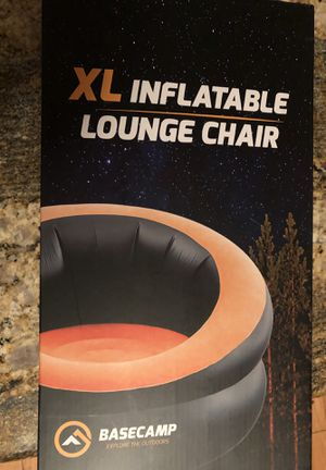 Basecamp XL Inflatable lounge Chair for Sale in Martinez, CA