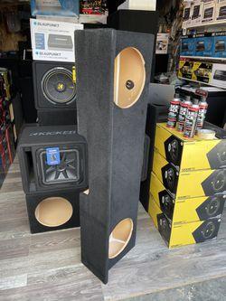 Speaker Box Silverado/Sierra Extra Cab 99-06 Thumbnail
