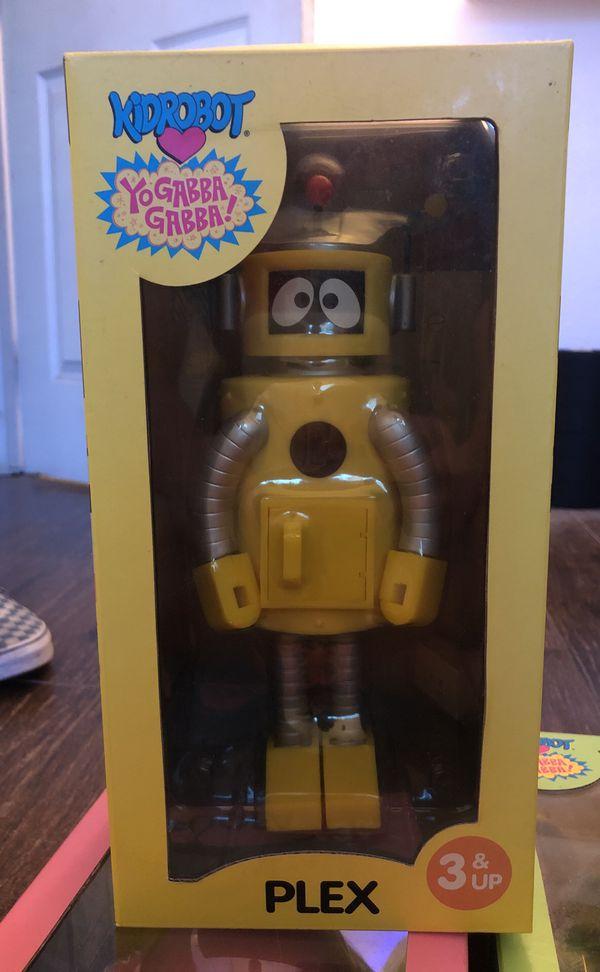Plex robot Yo Gabba Gabba
