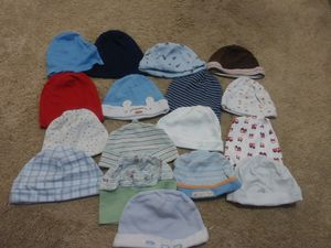 0-3 months Boys Hats, Booties, Bibs, and socks for Sale in Annandale, VA