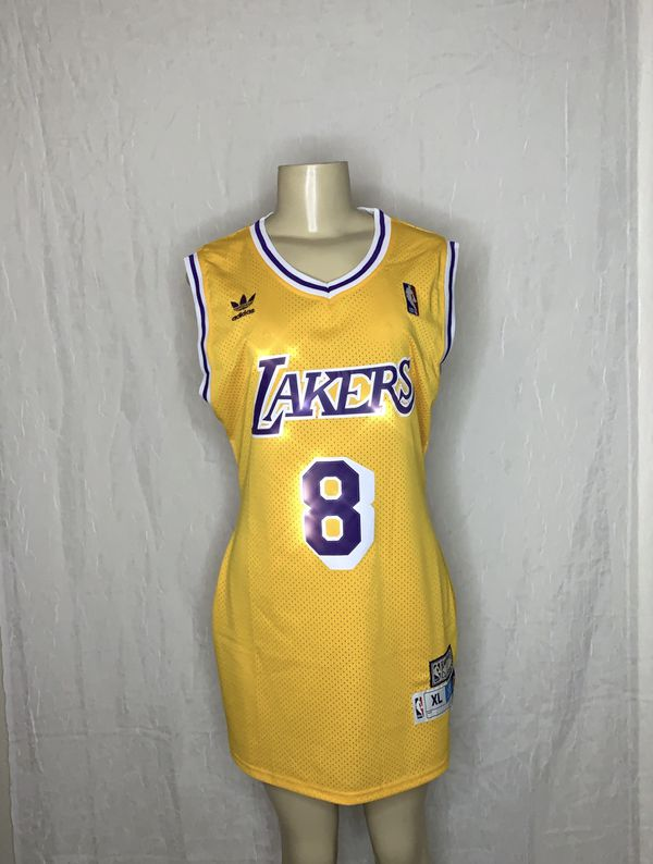 best loved 5472f 7761d Throwback Lakers Jersey Dress - Medium for Sale in Las Vegas, NV - OfferUp