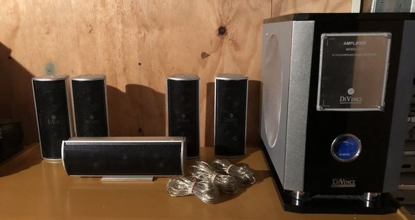 Divinci D 7 5 1ch Home Theatre Surround Sound System