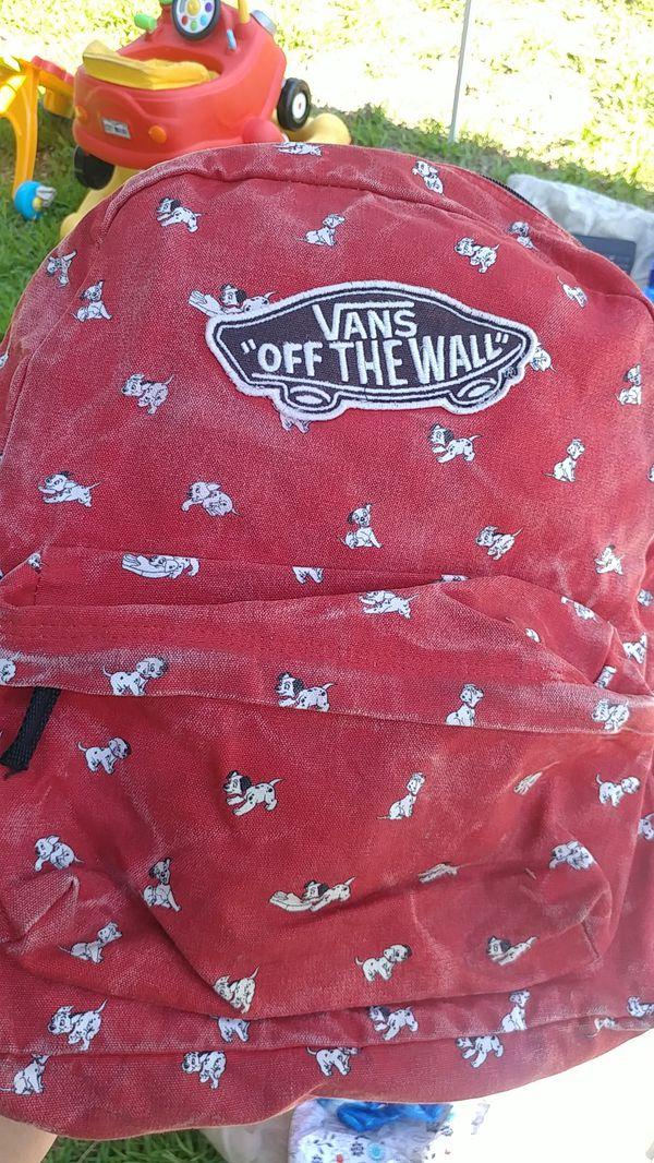 1b8be23197 Vans 101 Dalmatians backpack for Sale in Riverside