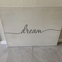Dream Canvas Wall Art Thumbnail