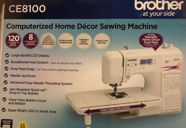 New Computerized Brother Sewing Machine For Sale In Nashville TN Gorgeous Brother Ce8100 Sewing Machine