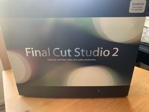 Final Cut Studio 2 - Academic for Sale in West Los Angeles, CA