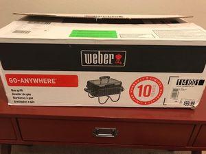 Weber Gas Grill for Sale in Ashburn, VA