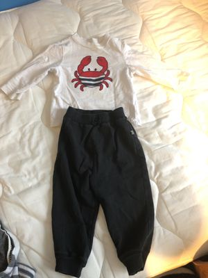 Toddler sweat pants with shirt and jacket 18m for Sale in Manassas, VA