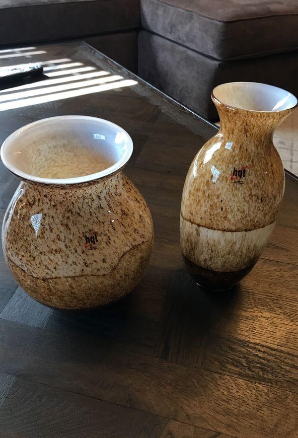 Hqt Handmade Home Design Glass Vase Set For Sale In El Monte Ca
