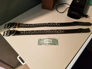 Dog leather spiked collars for Sale in Saint Cloud, FL