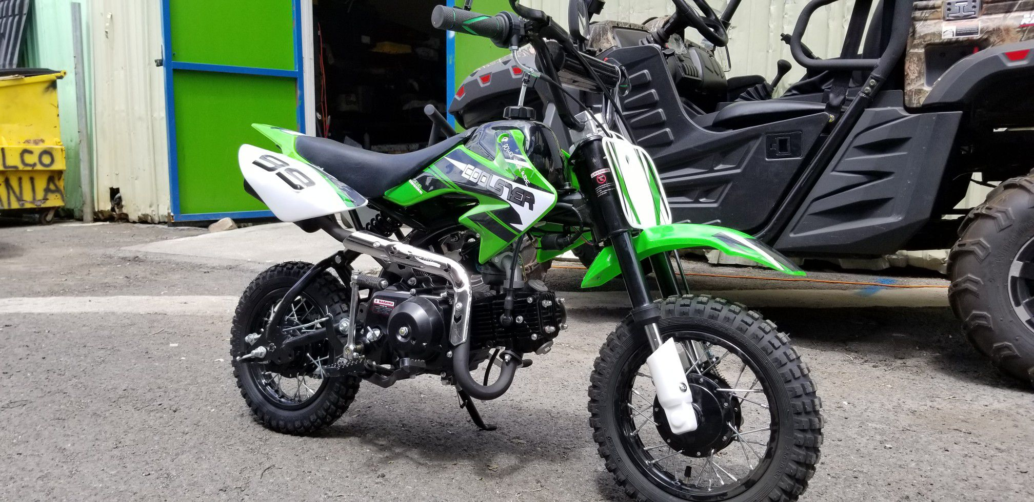 Photo New 2020 Coolster 70cc Kids Dirt Bike for Sale Hawaii Powersports 70cc, SemiAutomatic with Warranty