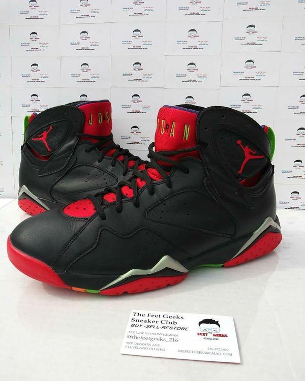 official photos 7873b 8c306 Nike Air Jordan 7 Retro Marvin The Martian Men s Shoes Size 10.5