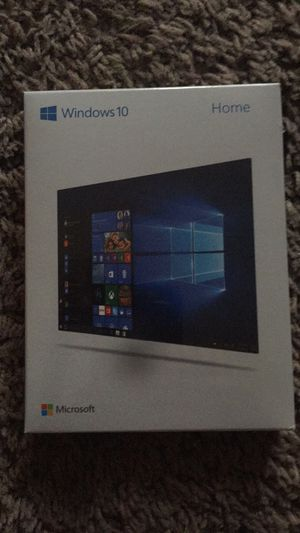 Windows 10 Home Software Disk + Key for Sale in Centreville, VA