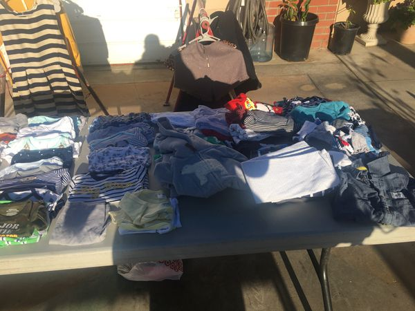 Yard Sale Today 5 5 2018 Avenue 4 Lake Elsinore Baby Boy Clothes