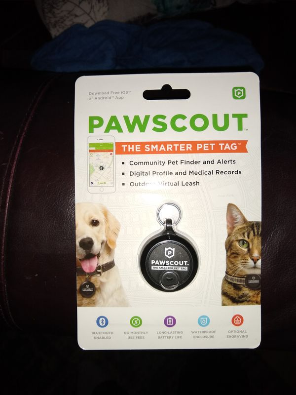 Pawscout Smart Pet Find Bluetooth Tag for Sale in Denver, CO - OfferUp