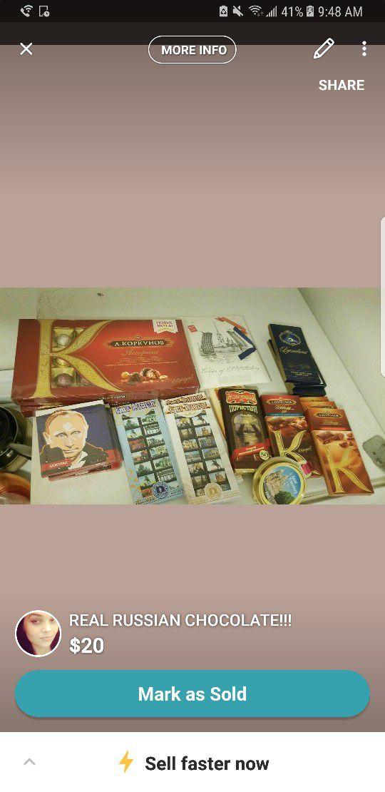 Real Russian chocolate